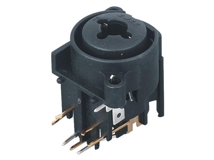 XLR卡侬组合插座SPC-18