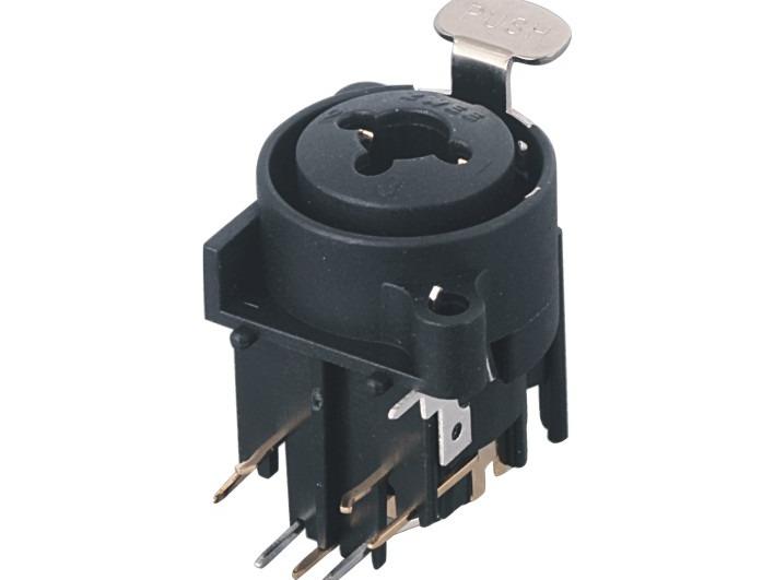 XLR卡侬组合插座SPC-18A