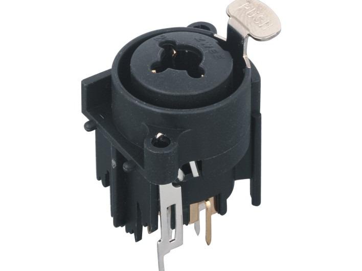 XLR卡侬组合插座SPC-19A