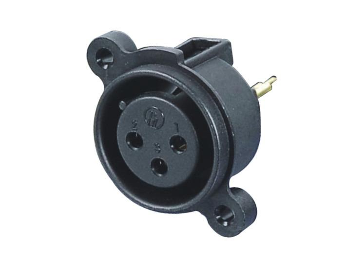 XLR卡侬母插座SPF-06C